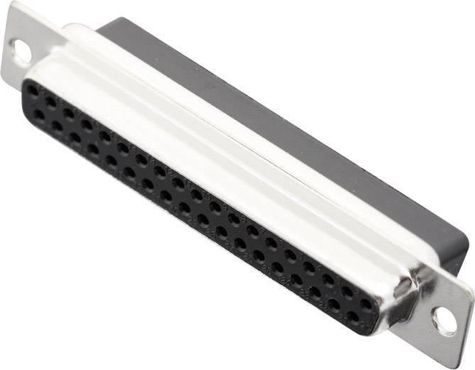 D-SUB zásuvková lišta MH Connectors MHDBC37-SS, 180 °, Počet pinov 37, krimpované , 1 ks
