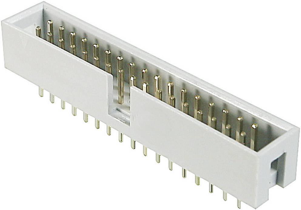 Konektor pre ploché káble ASSMANN WSW AWHW 40G-0202-T, počet kontaktov 40, Počet riadkov 2, 1 ks