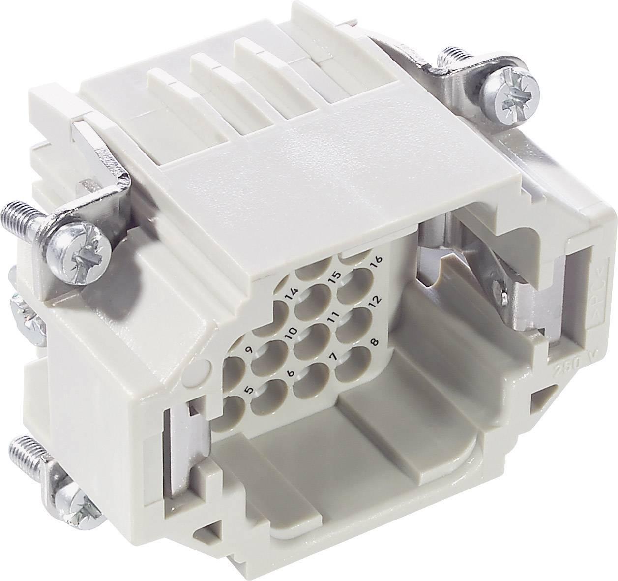 Vložka pinového konektoru EPIC® H-DD 24 11285000 LappKabel počet kontaktů 24 + PE 1 ks
