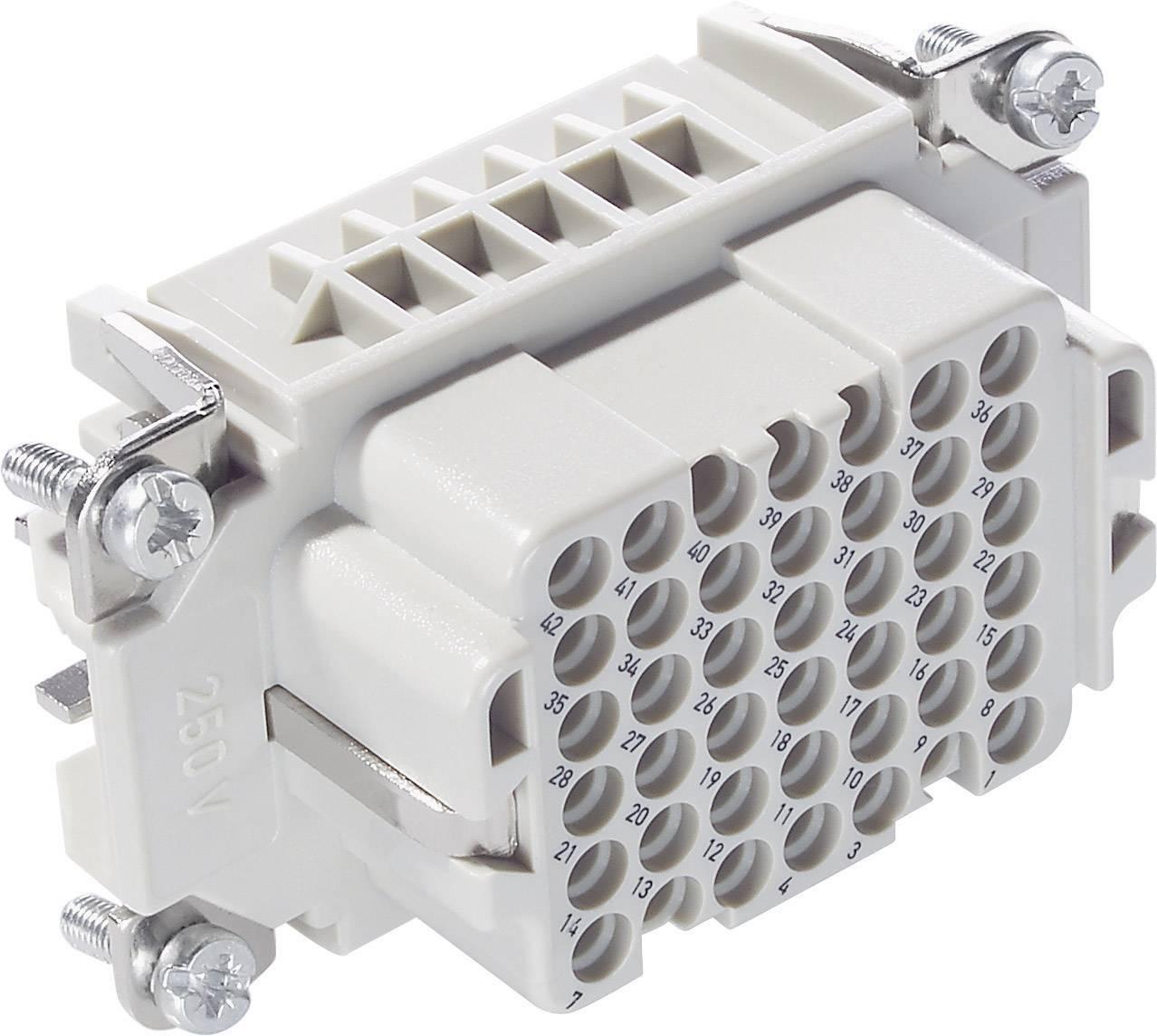 Konektorová vložka, zásuvka EPIC® H-DD 42 11286100 LappKabel počet kontaktů 42 + PE 1 ks