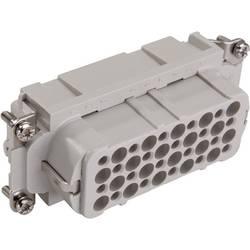 Konektorová vložka, zásuvka EPIC® H-D 40 11266000 LAPP počet kontaktů 40 + PE 5 ks