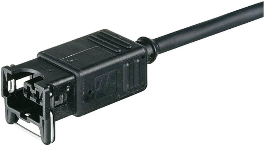Ventilový konektor Junior Timer Murr Elektronik 7000-70061-7400500, IP65, 5 m, černá