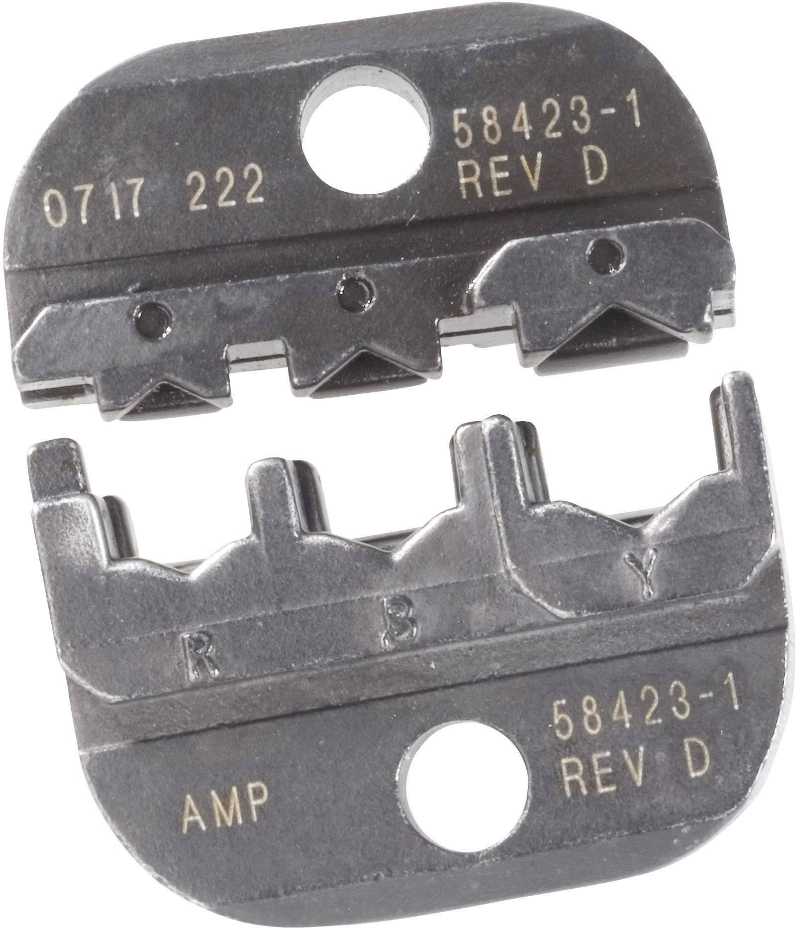 Krimpovací čelisti TE Connectivity 169404, 0,25 mm² - 6,6 mm², černá