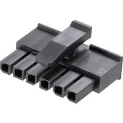 Pouzdro konektoru micro-3-mm-Mate-N-Lok TE Connectivity 1445022-3, zásuvka rovná, 3 mm