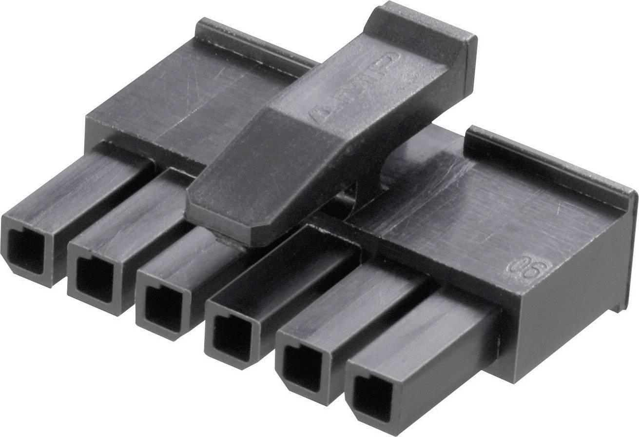 Zásuvkové púzdro na kábel TE Connectivity 1445022-3, počet pólov 3, raster 3 mm, 1 ks