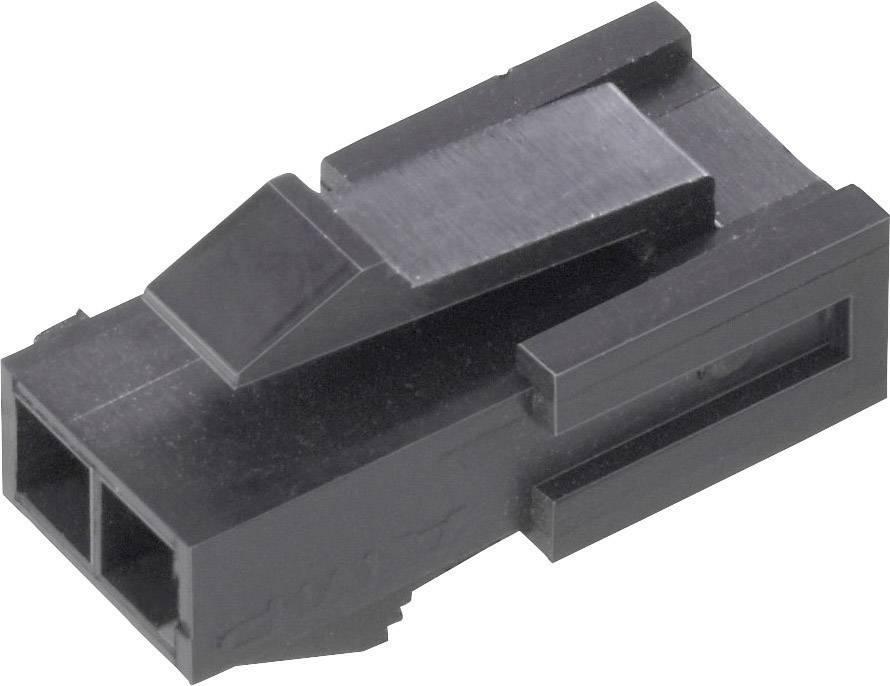 Zástrčkové puzdro na kábel TE Connectivity 1445048-3, počet pólov 3, raster 3 mm, 1 ks
