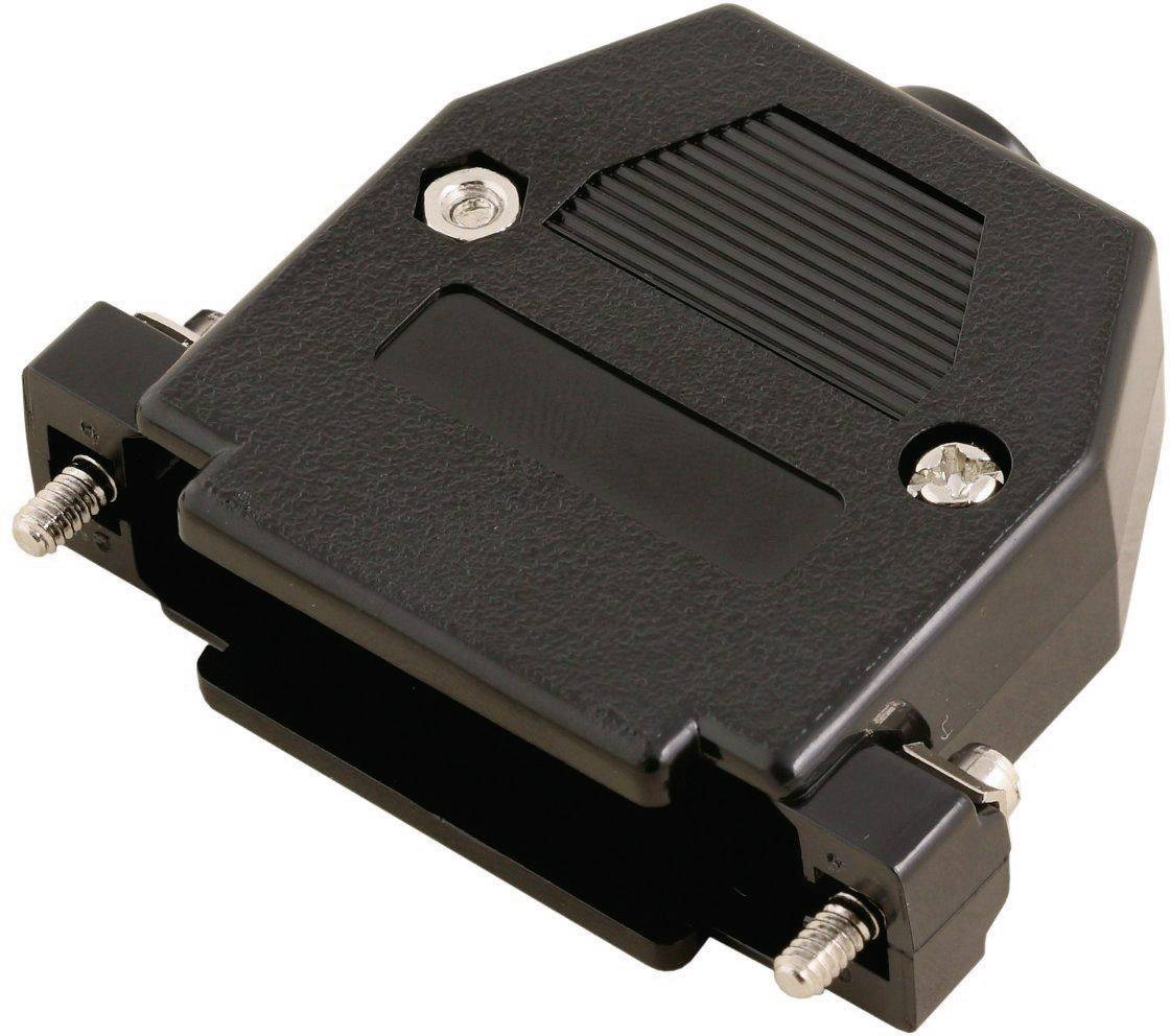 D-SUB pouzdro MH Connectors 2360-0102-03 2360-0102-03, Pólů: 25, plast, 180 °, černá, 1 ks