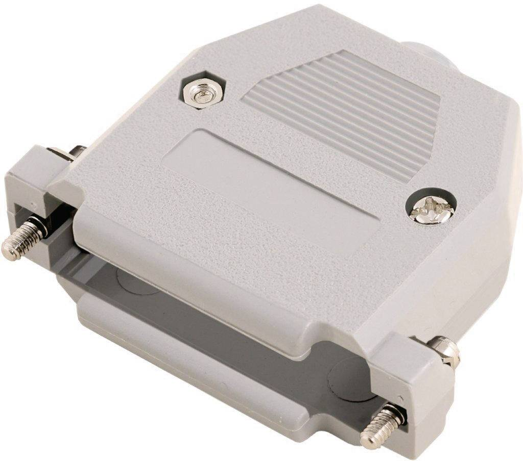 D-SUB púzdro MH Connectors 2360-0102-12 2360-0102-12, Počet pinov: 15, plast, 180 °, sivá, 1 ks