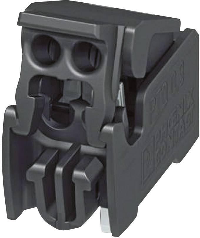 Pružinová svorka Phoenix Contact PTQ 0,3/ 2-2,5 THR R32 1702610, 0.34 mm², počet pinov 2, čierna, 1 ks