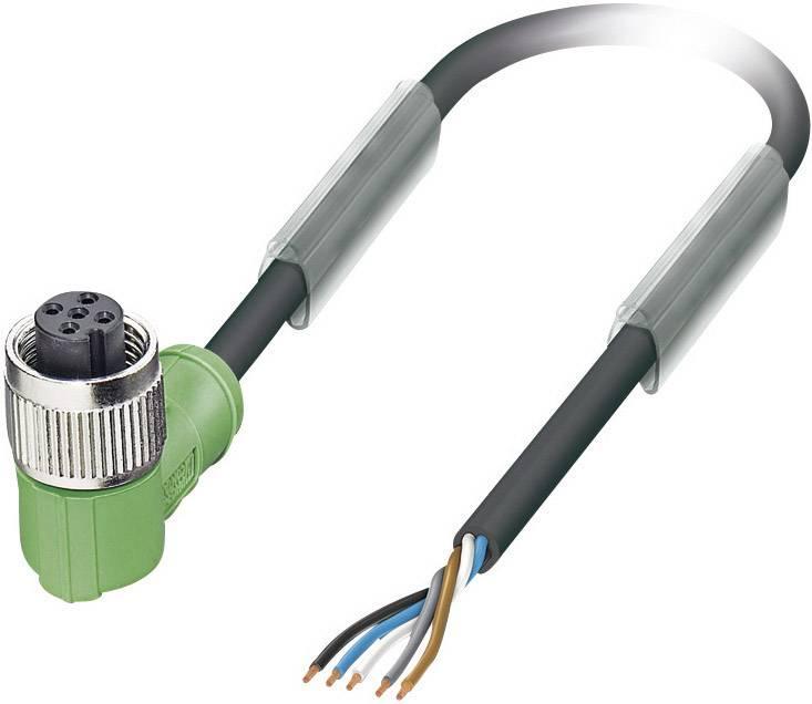 Upravený zástrčkový konektor pre senzory - aktory Phoenix Contact SAC-5P- 5,0-PUR/M12FR 1669877, 1 ks