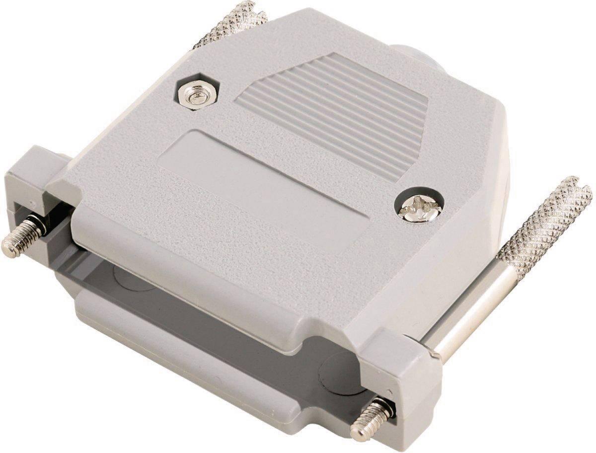 D-SUB pouzdro MH Connectors 2360-0102-31 2360-0102-31, pólů 9, plast, 180 °, šedá, 1 ks