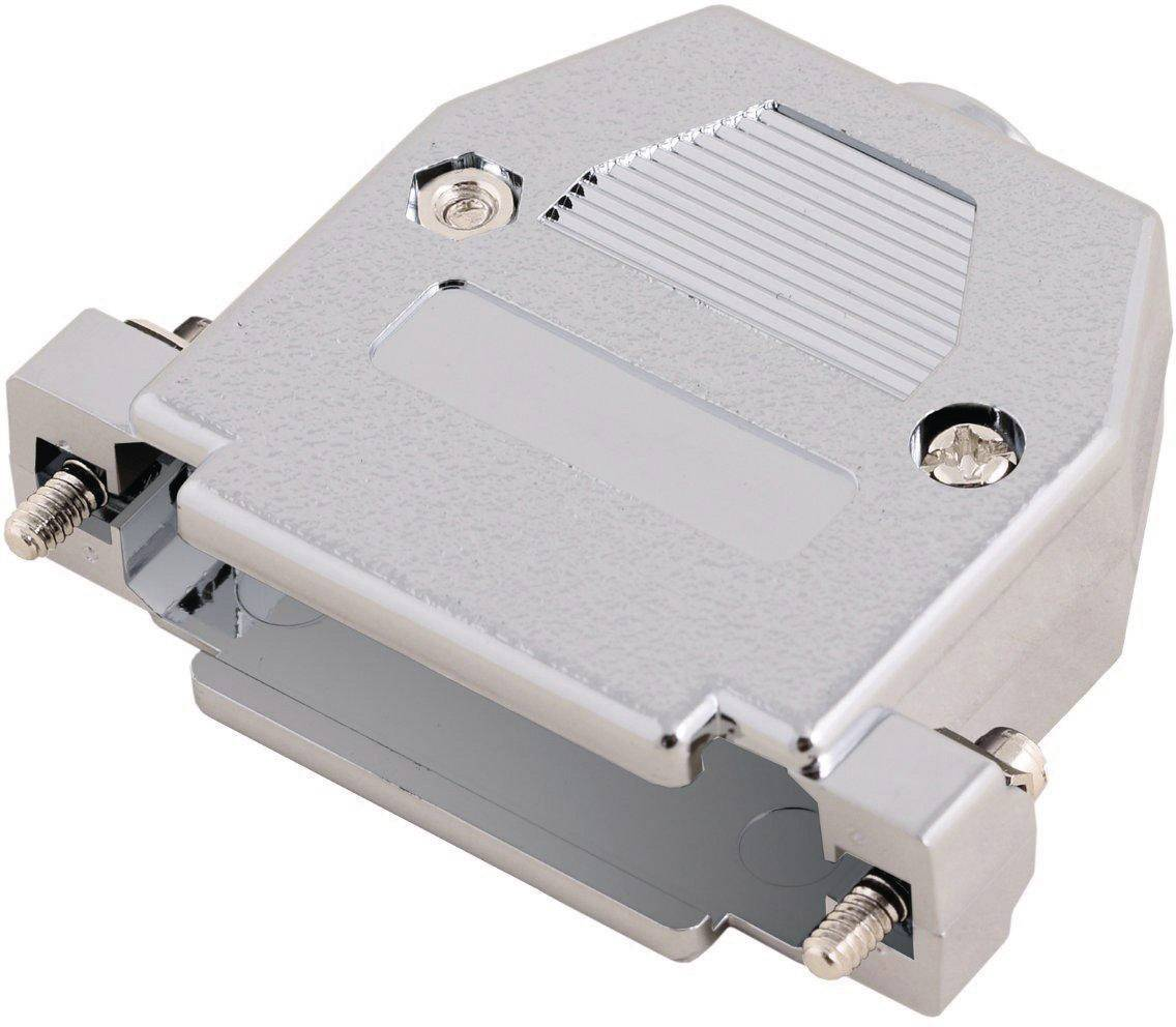 D-SUB pouzdro MH Connectors 2360-0105-01 2360-0105-01, pólů 9, plast, pokovený, 180 °, stříbrná, 1 ks