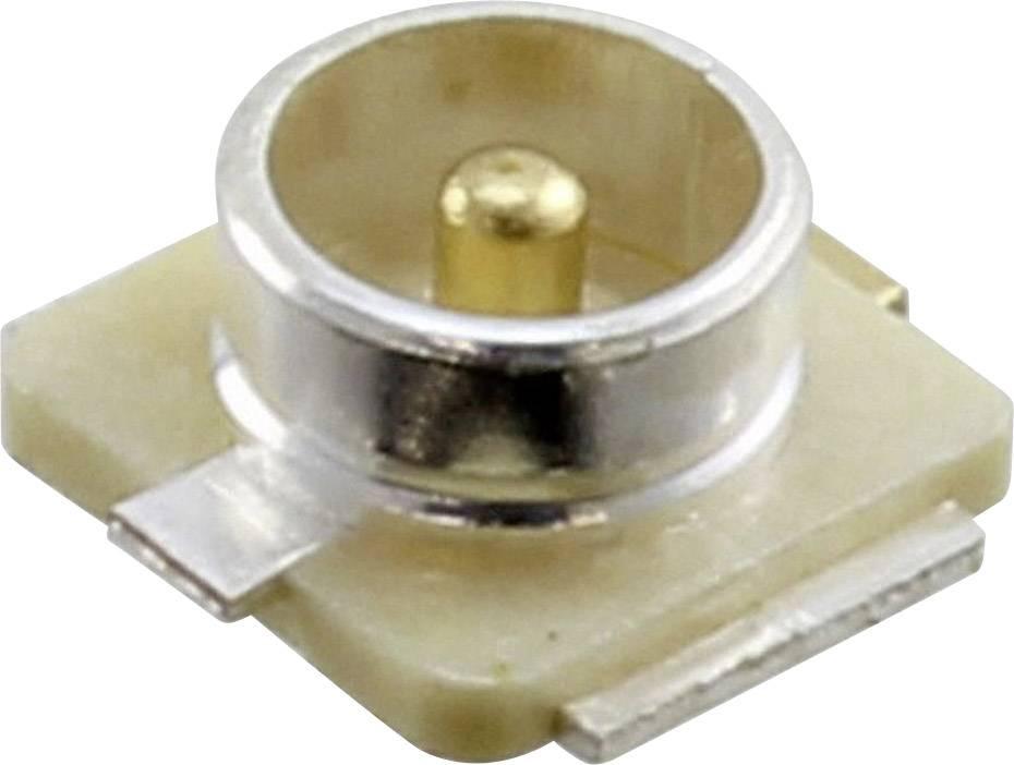 U.FL konektor Hirose U.FL-R-SMT 01, 50 Ω, U.FL-R-SMT (01), zástrčka zabudovateľná horizontálna