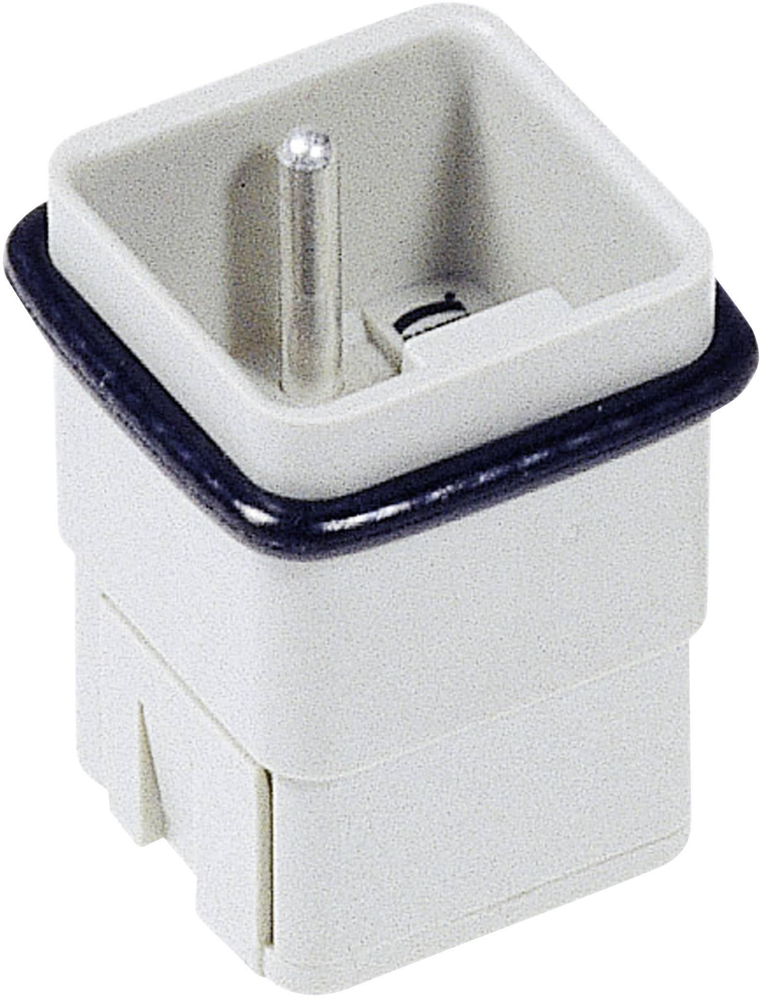 Vložka pinového konektoru Harting Han® Q 09 12 005 3001, 5 + PE, krimpované připojení, 1 ks
