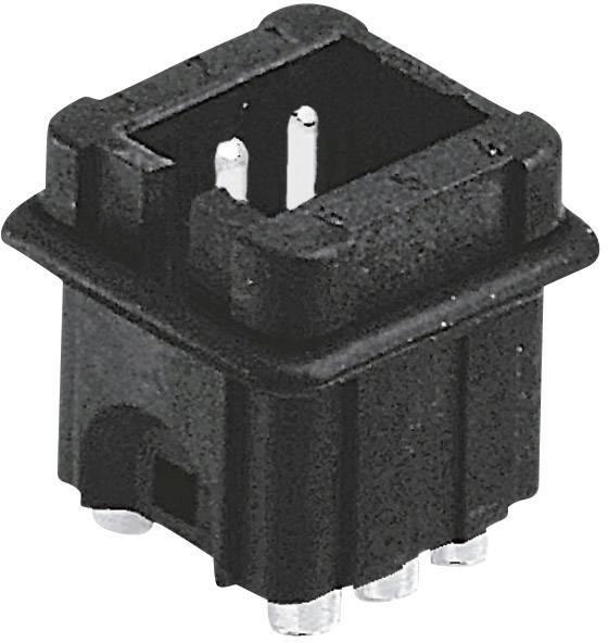 Vložka pinového konektoru Harting Han® Staf 09 70 006 2615, 6, pájené připojení, 1 ks