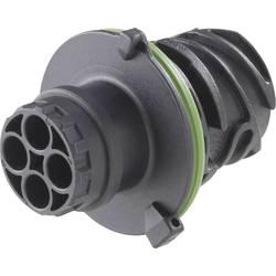 Kruhový konektor AMP podľa DIN 72585 guľatý faston TE Connectivity 967650-1 IP69/IP69K, pólů 7, 1 ks