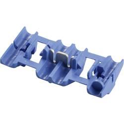 Zářezová svorka TE Connectivity, 735398, 1 - 2,5 mm², 2pólová, modrá