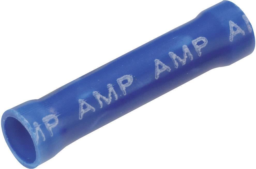 Krimpovacia spojka TE Connectivity 34071, 1 mm² (min), úplne izolované, modrá, 1 ks