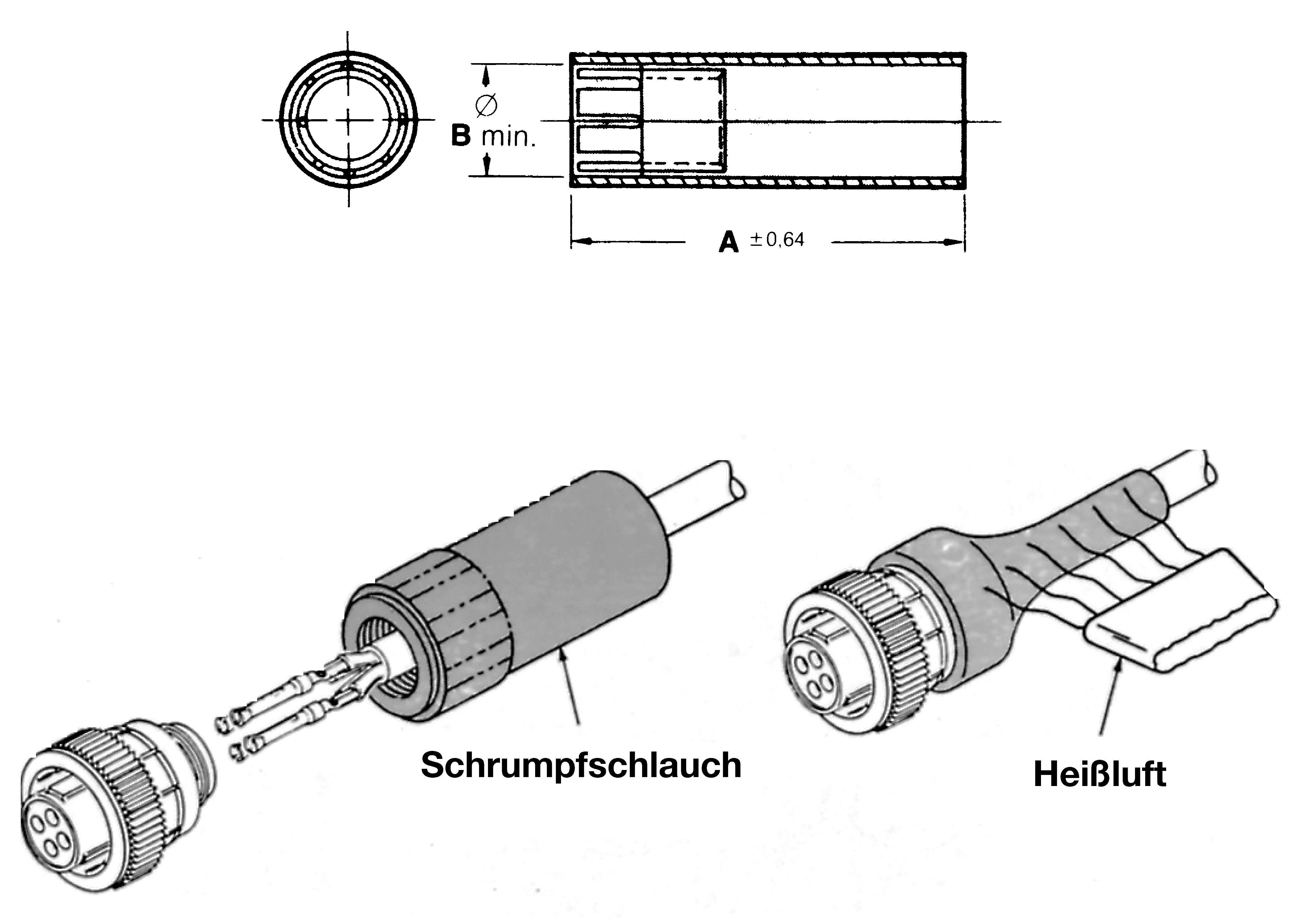 TE Connectivity 54011-1 termoplast UL94V-1, 1 ks