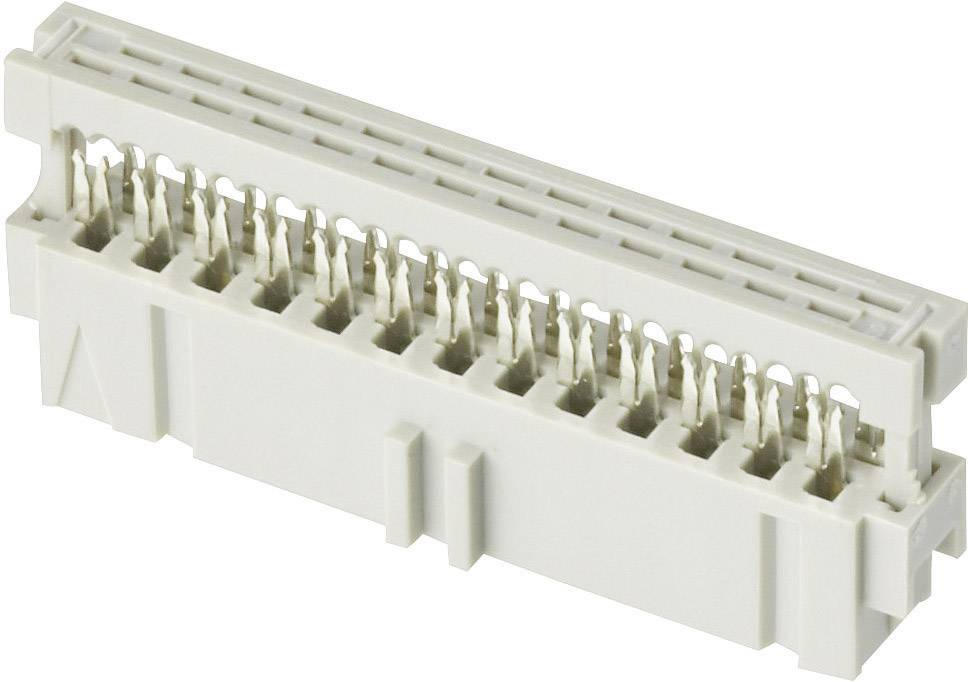 Kolíková lišta TE Connectivity Latch Mark, počet kontaktov 26, Počet riadkov 2, 1 ks