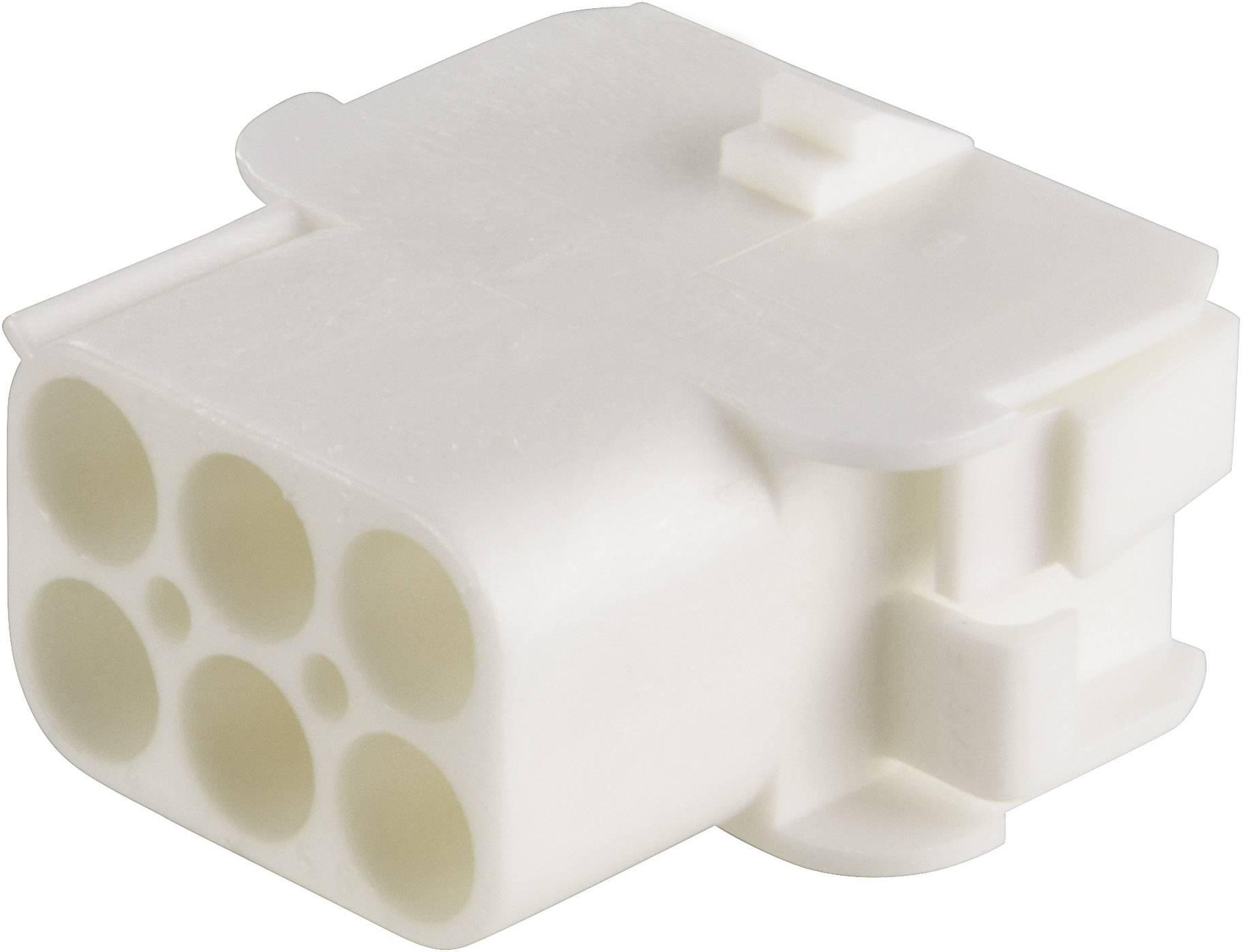 Zásuvkové púzdro na kábel TE Connectivity 926682-3, počet pólov 6, raster 6.35 mm, 1 ks