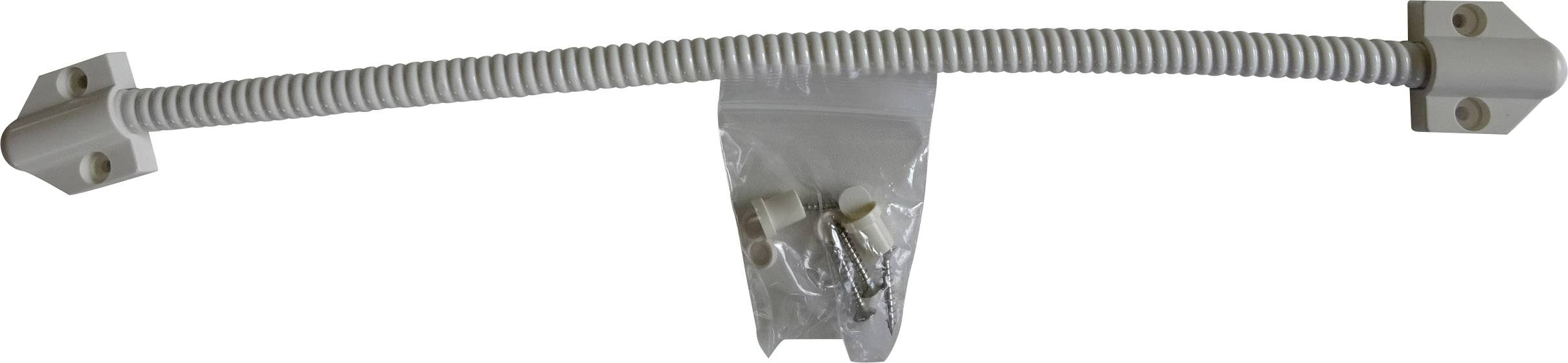 Káblová priechodka flexibilná Sitec 099006, Ø 7 mm, PVC, biela, 1 ks
