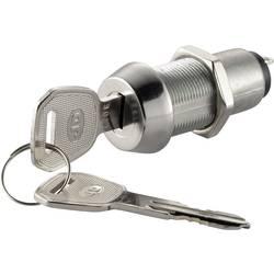Kľúčový spínač TRU COMPONENTS NO.8212 750662, 30 V, 3 A, 1x vyp/zap, 1 x 90 °, 1 ks