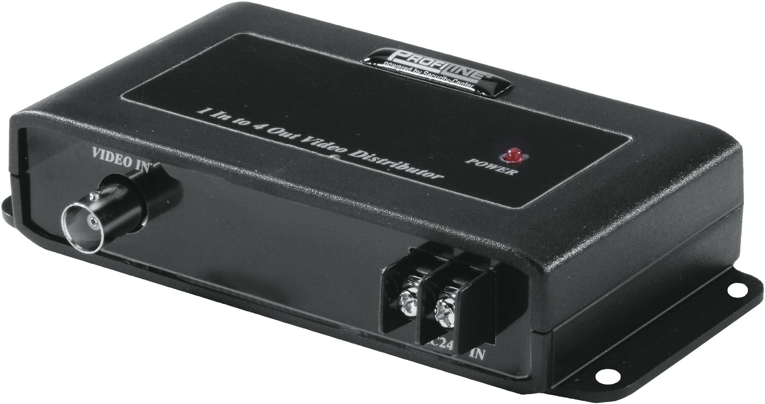 Rozvaděč video signálu 4-kanálový ABUS