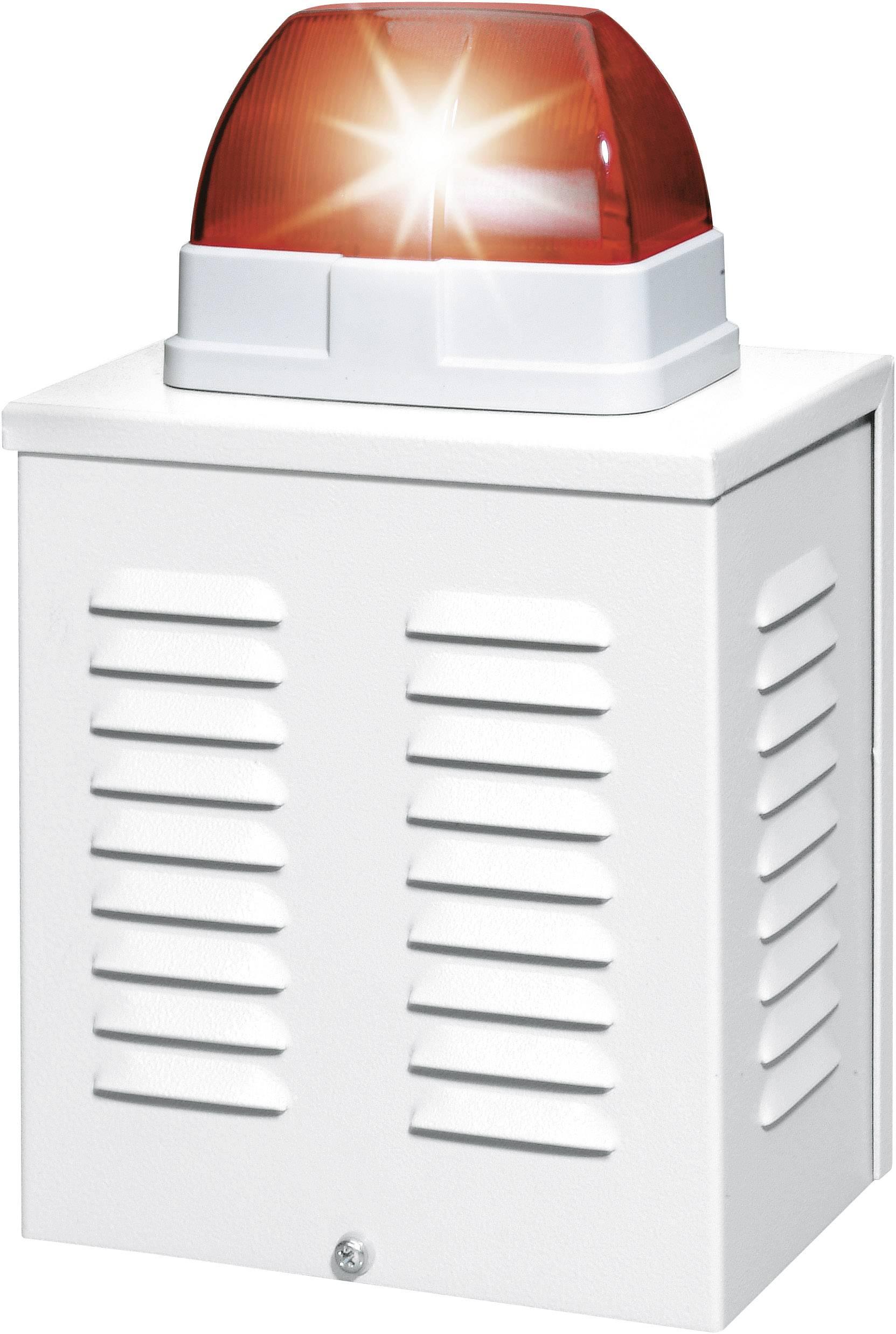 Siréna s optickou signalizací Abus, SG1650, 110 dB, IP34