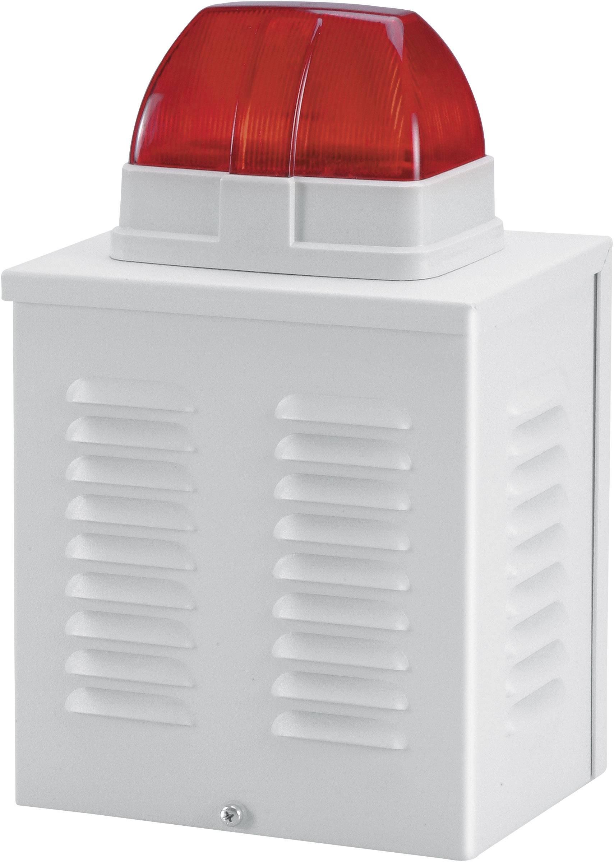 Prázdna skriňa pre alarmovú sirénu alebo blikajúce svetlo ABUS