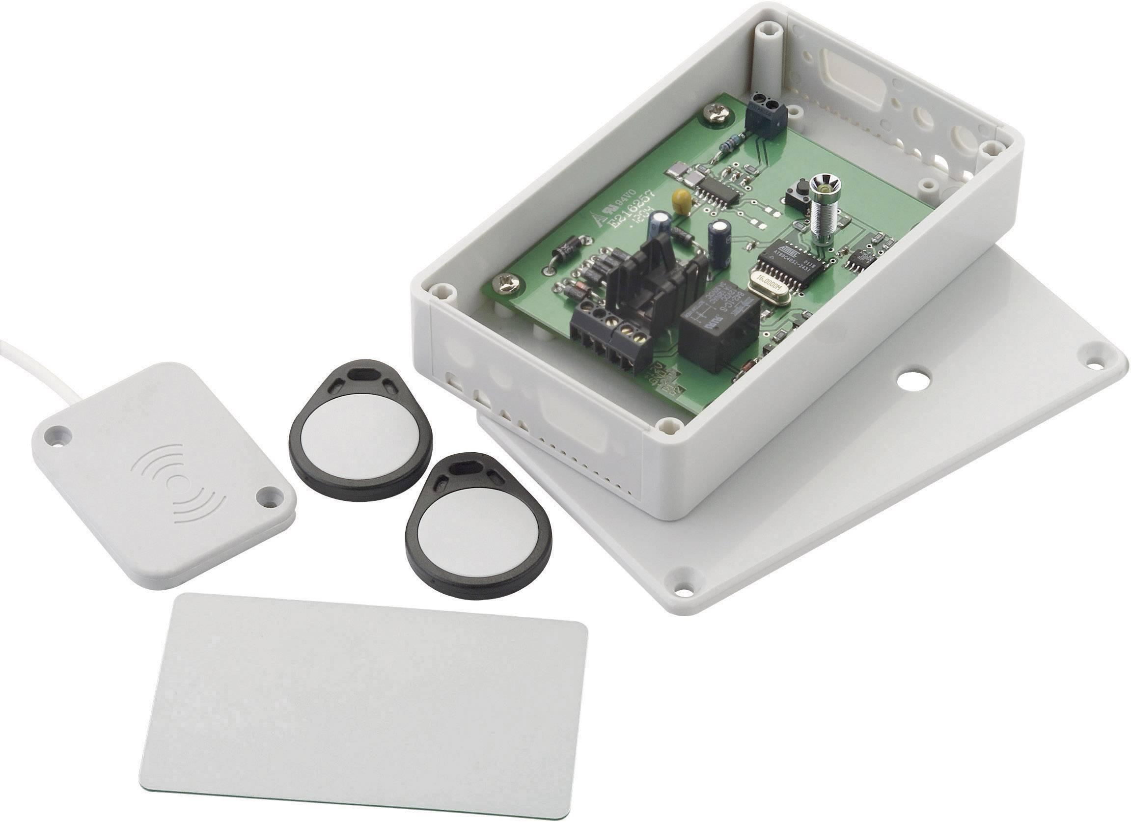 Transpondérový bezpečnostní systém otevírání dveří LESER 6