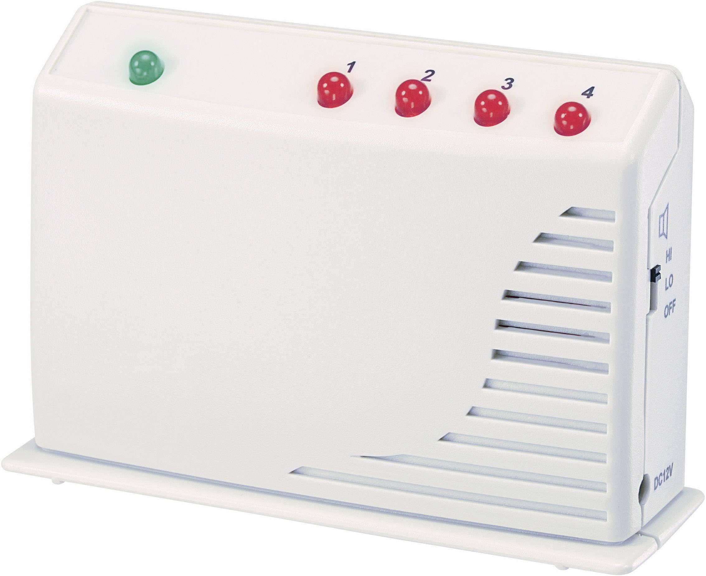 Bezdrôtový alarm GM-433R Zóna alarmu (bezdrôtová) 4