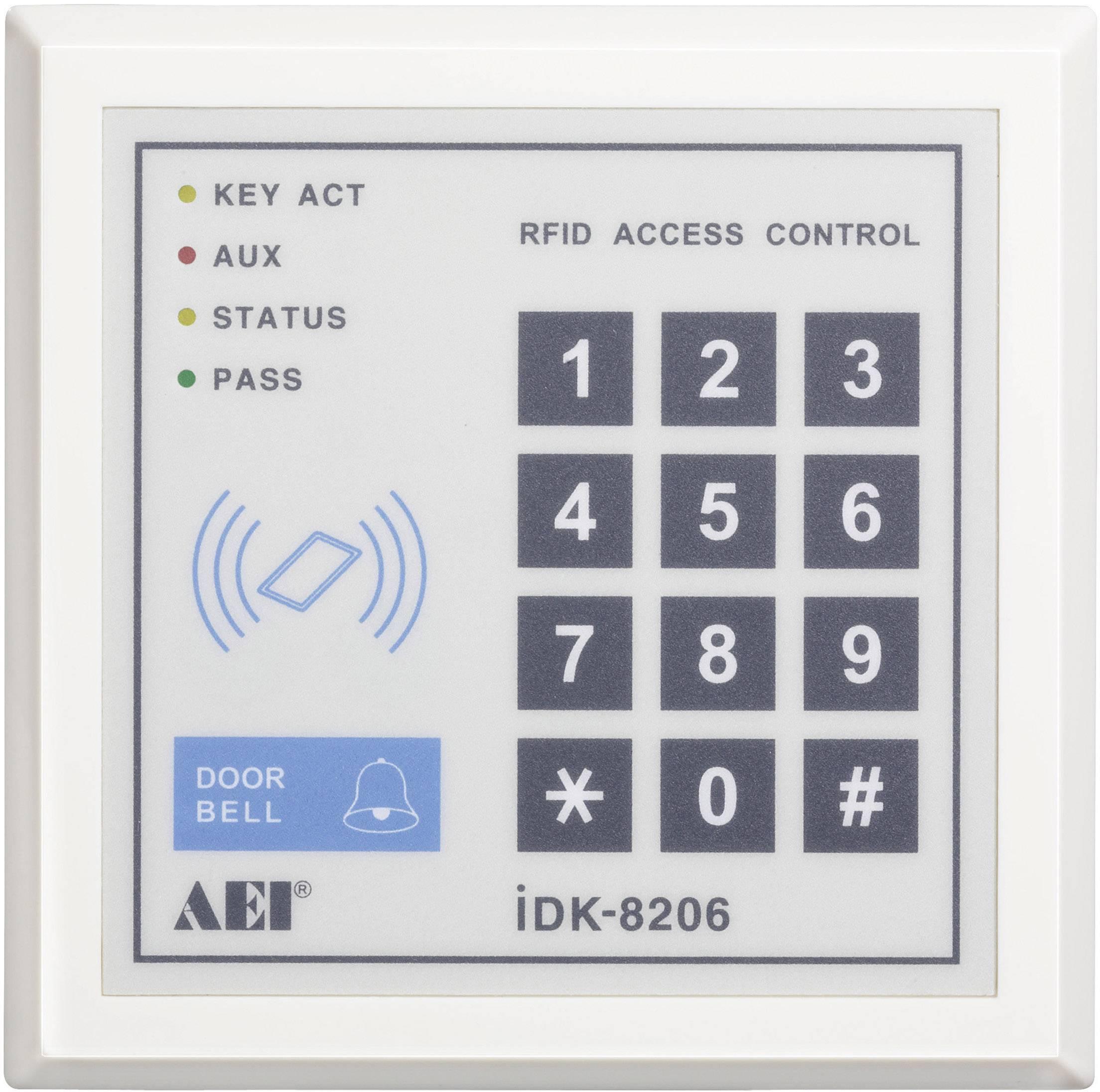 Kódová klávesnica s čítačkou kariet
