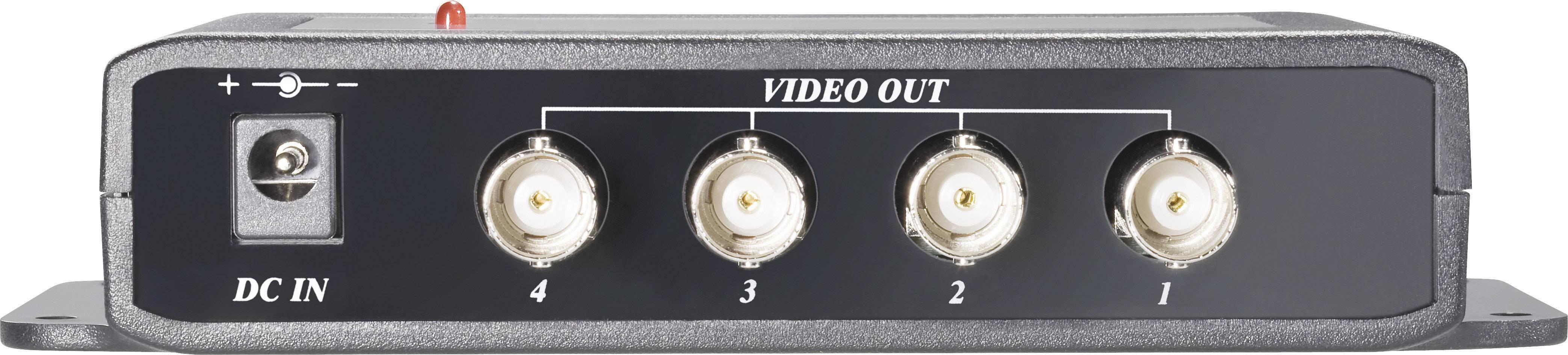 Rozbočovač video signálu Sygonix, 4-kanálový