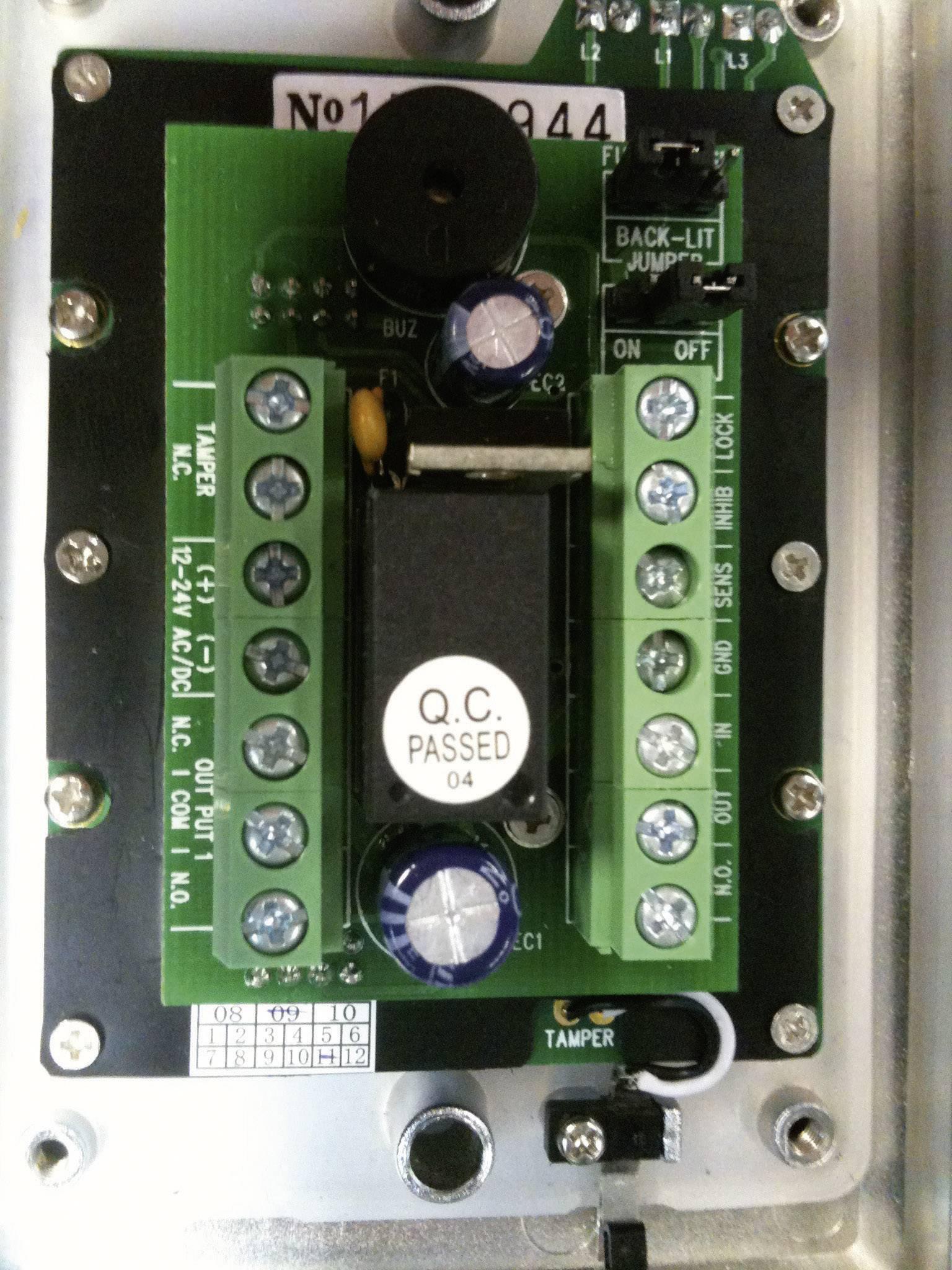 Kódový zámok z nerezovej ocele Sygonix IP66
