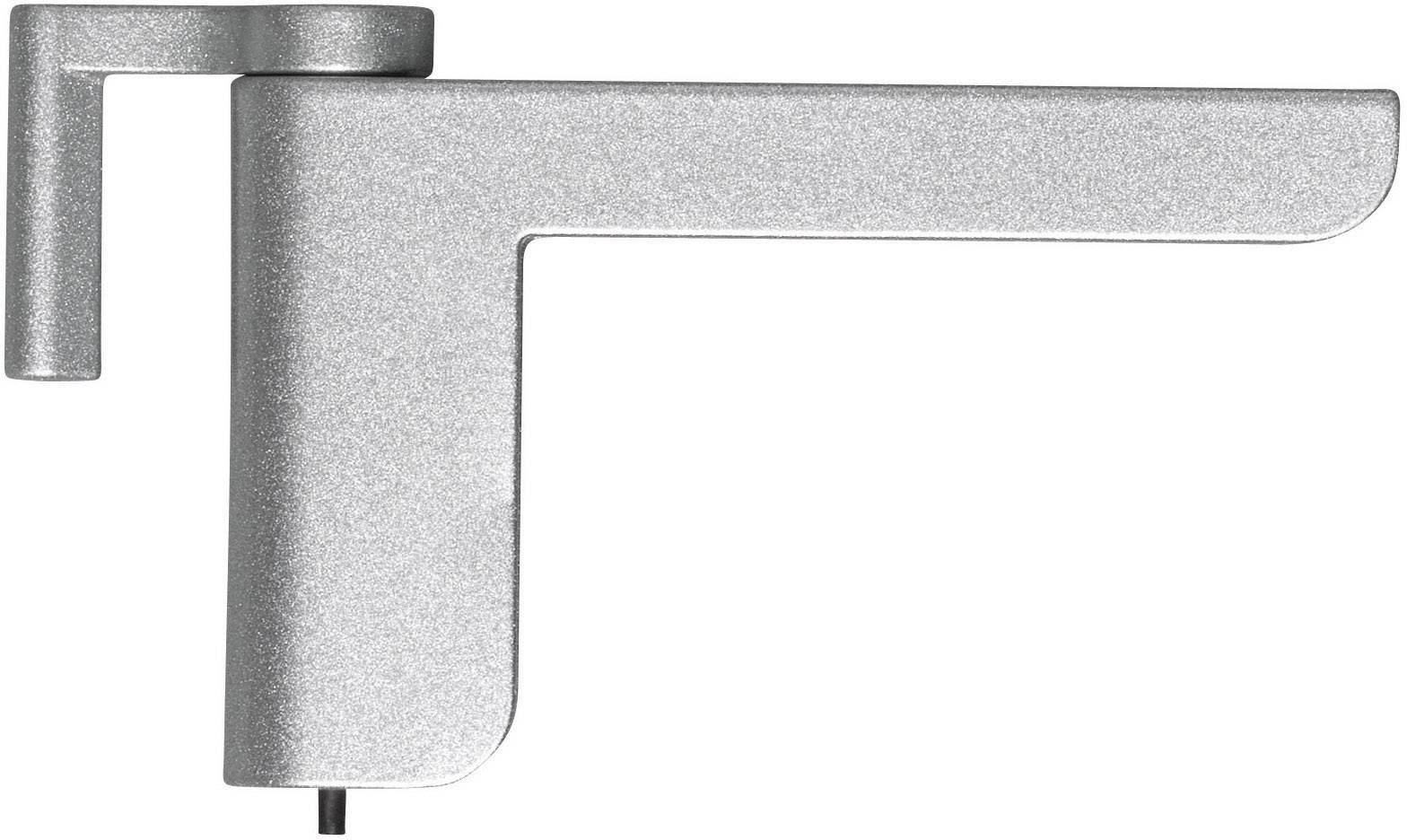 Dveřní minizavírač ABUS 2603 SABTS44182, stříbrný
