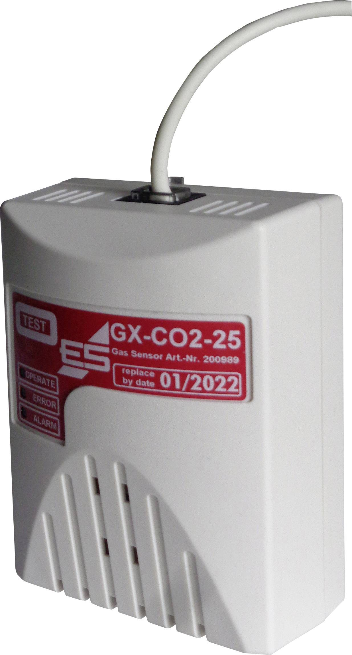 Senzor úniku plynu Schabus GX-CO2, 200989-C2, 5 V