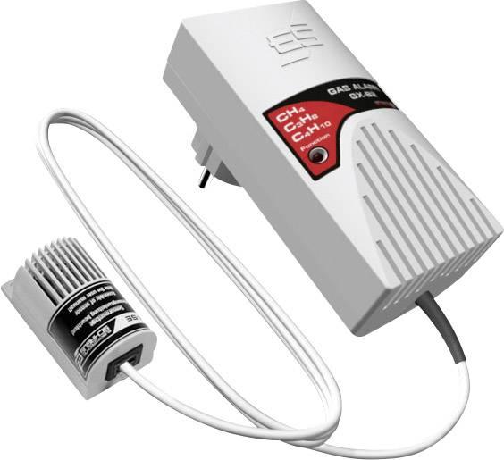 Detektor úniku plynu do zásuvky Schabus GX-B2, 300226, 230 V/AC, externí senzor