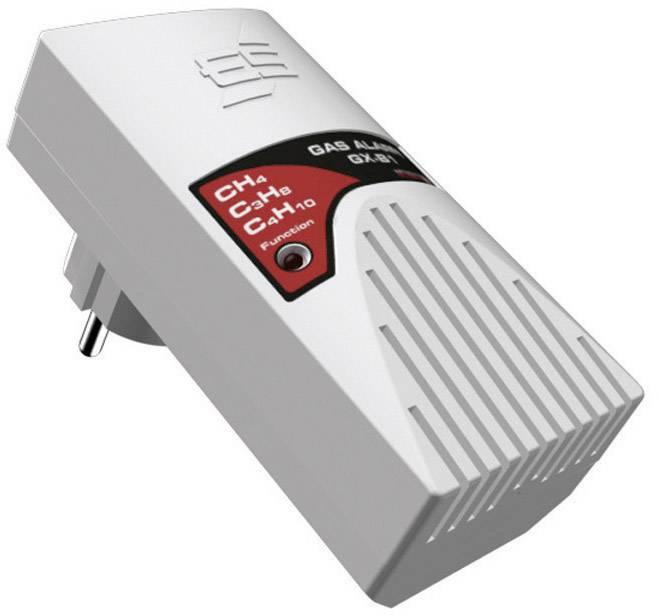 Detektor úniku plynu do zásuvky Schabus ES GX-B1