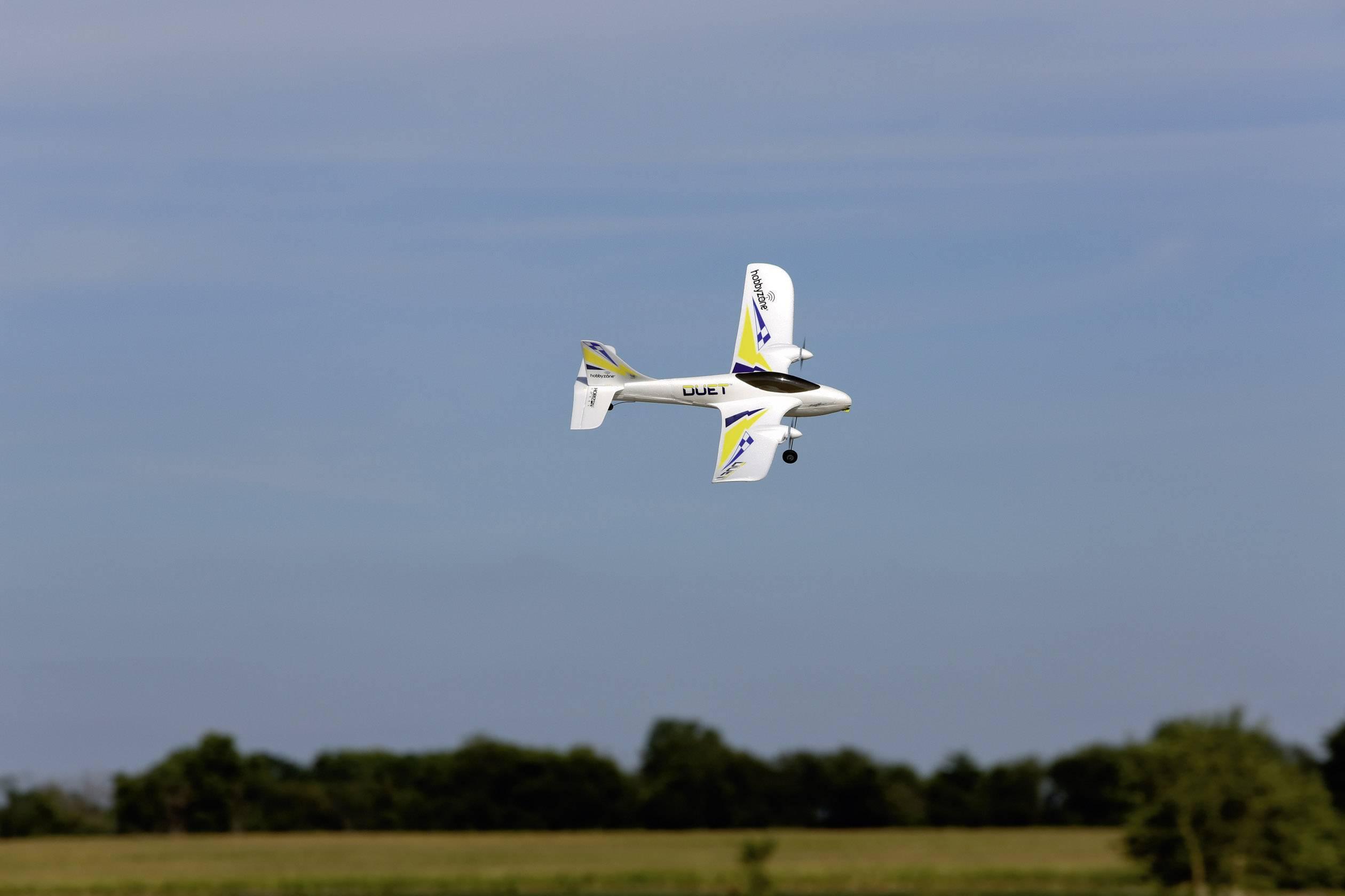 RC model lietadla Hobbyzone Duet 523 mm RTF