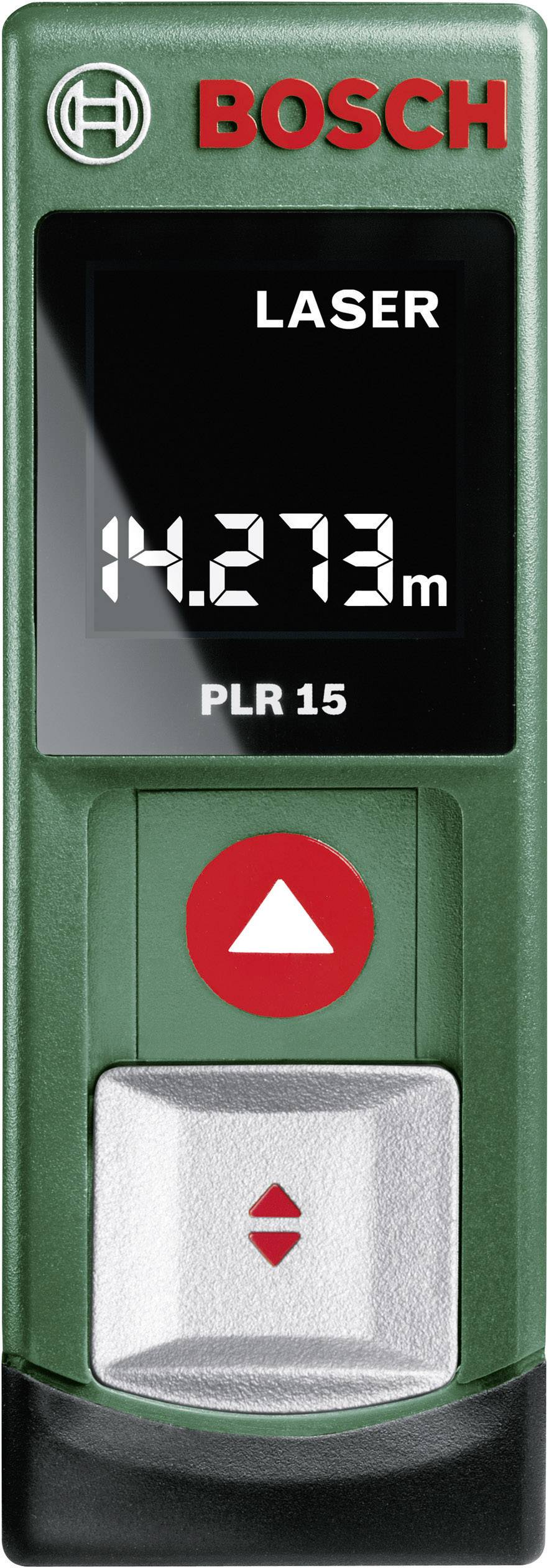 Laserovýdiaľkomer Bosch Home and Garden PLR 15 0603672001, rozsah merania (max.) 15 m