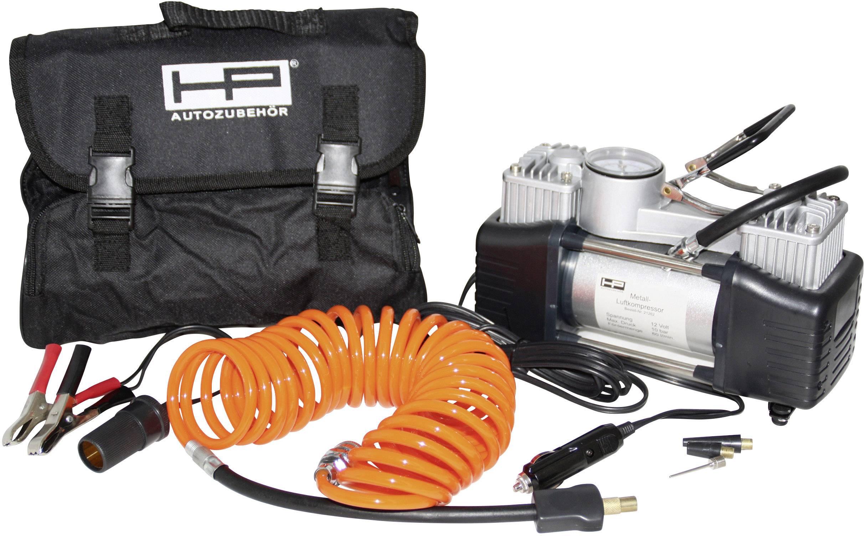 Kompresor na hustenie pneumatík, dvojvácový, HP 21262, 12 V, 7 bar