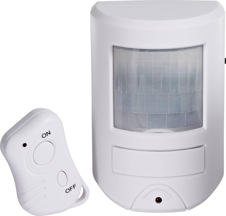 Mini-alarm Cordes CC-400, s diaľk.ovládačom, 85 dB