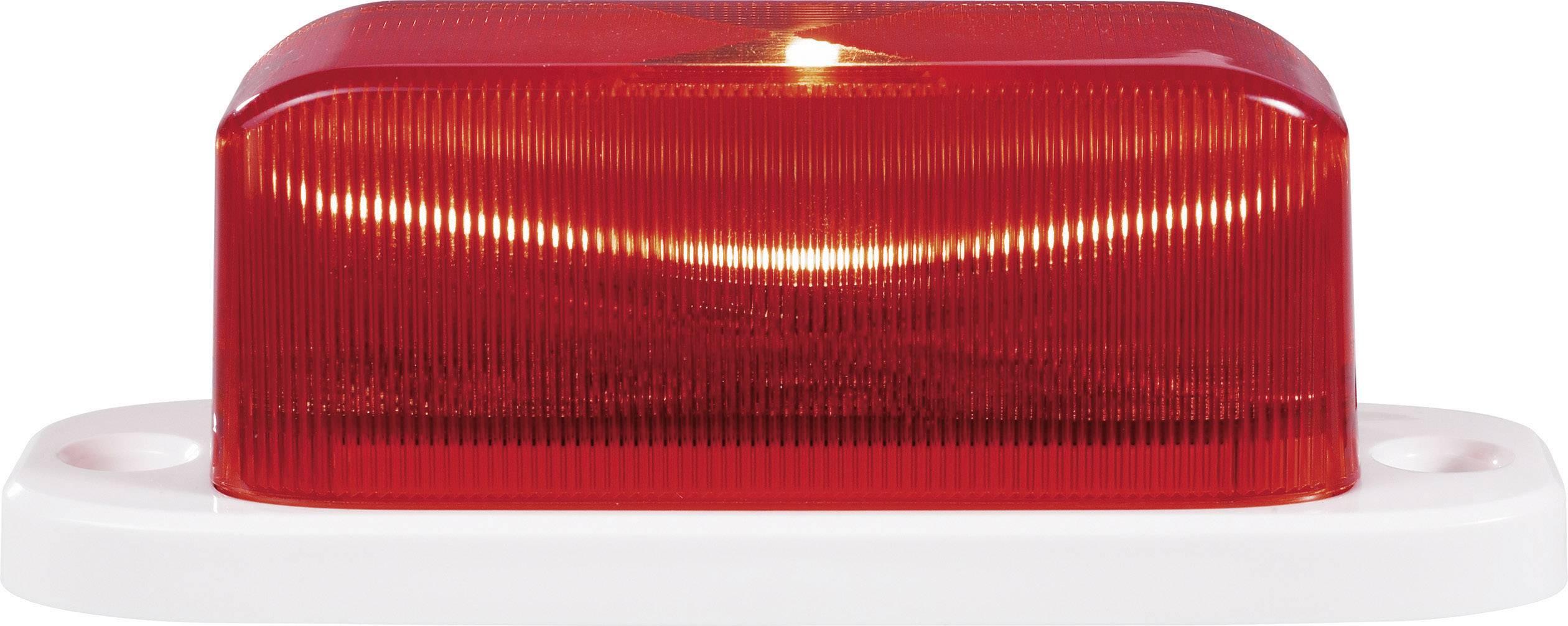 LED stroboskop, 7,62 Hz a 24,75 Hz, červená