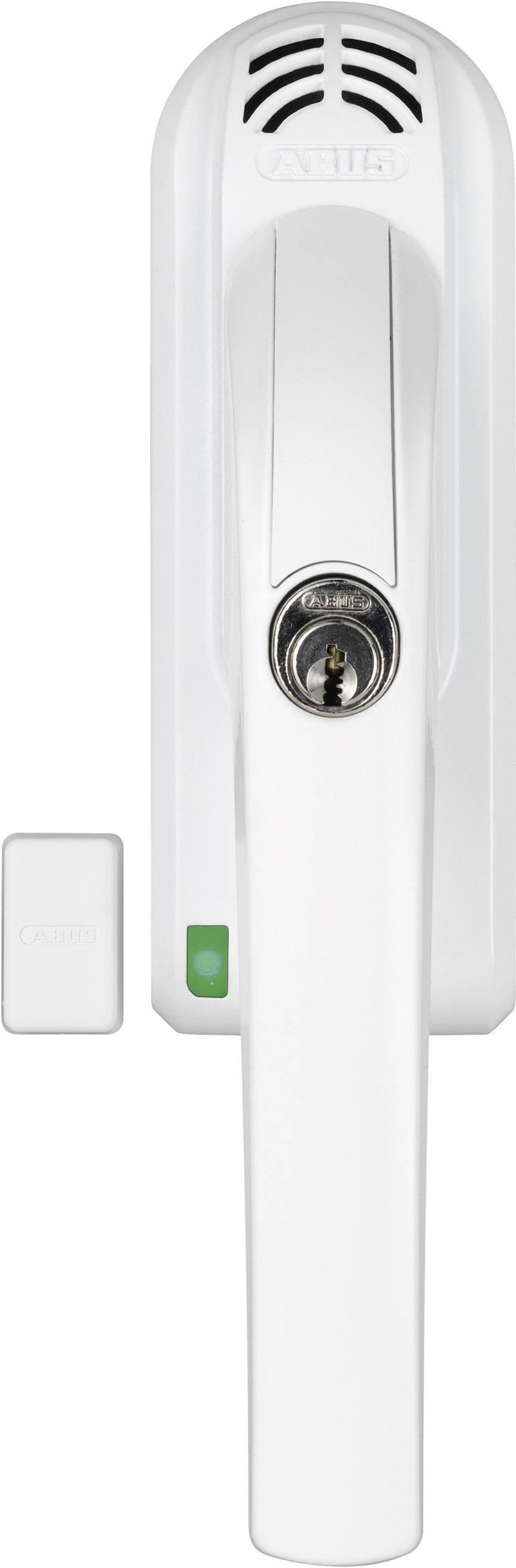 Uzamykateľná okenná kľučka s funkciou alarmu ABUS