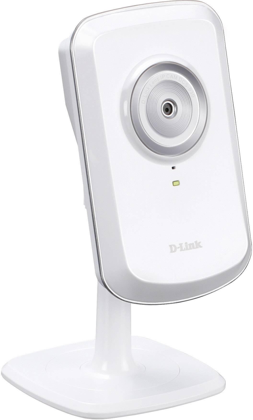 Bezdrôtová bezpečnostná IP kamera D-Link DCS-930L, 640 x 480 px