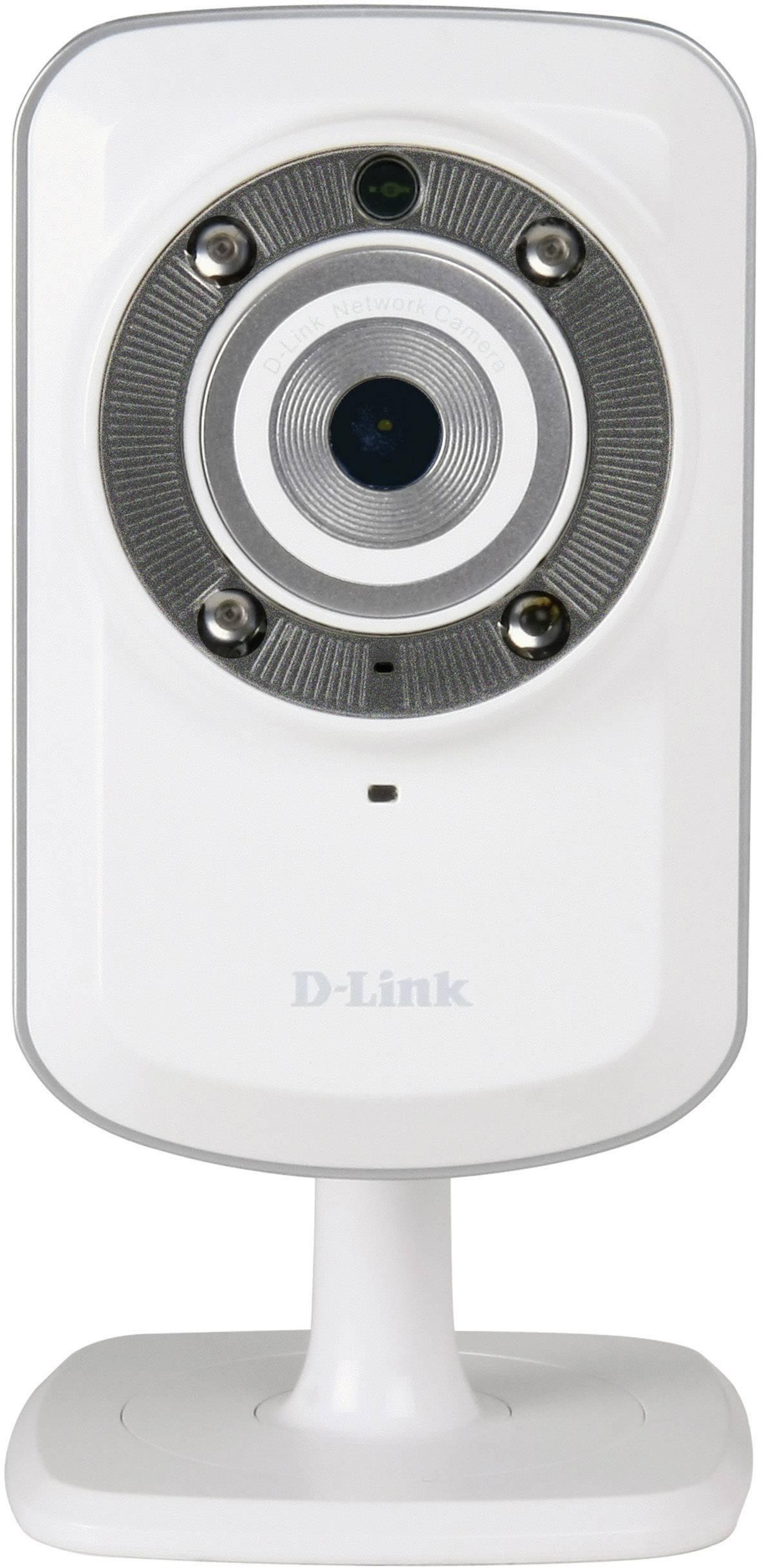 Bezdrôtová bezpečnostná IP kamera D-Link DCS-932L, denný aj nočný záznam, 640 x 480 px