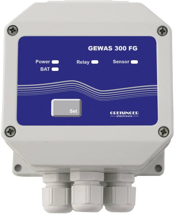 Detektor úniku vody Greisinger GEWAS 300 FG, bez senzora, na omietku