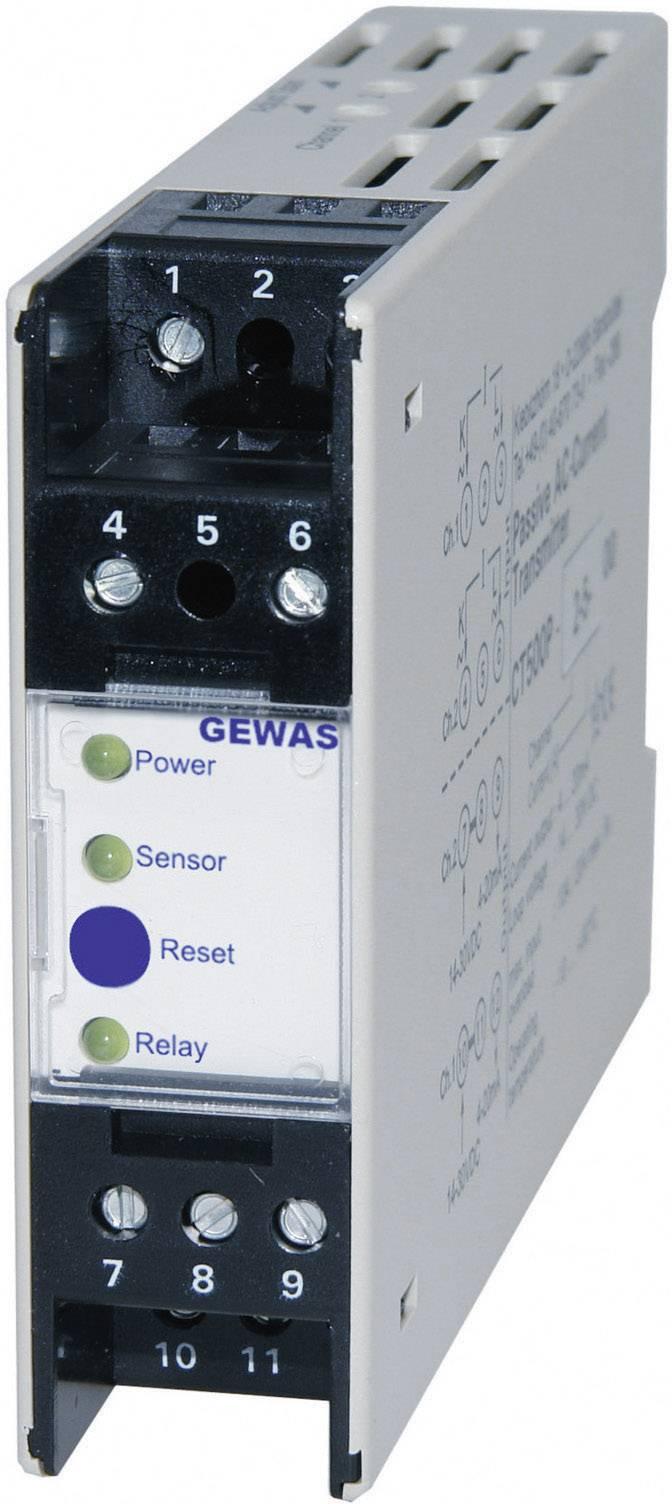 Detektor úniku vody Greisinger GEWAS 300 SP, bez senzora, na DIN lištu