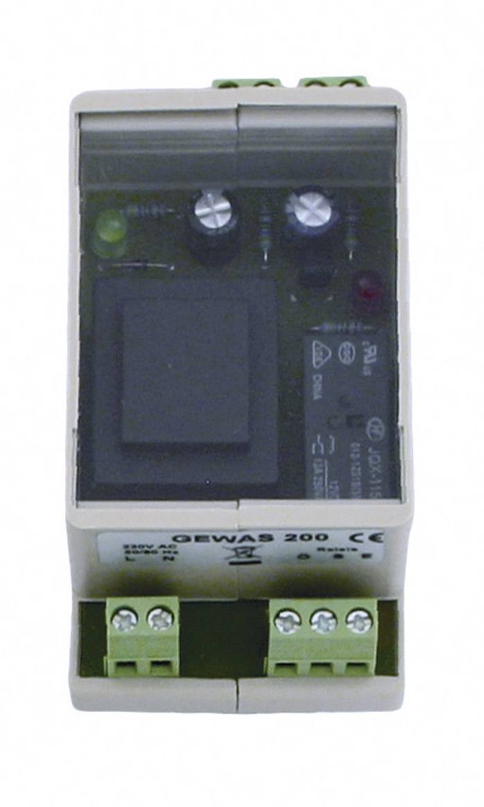 Detektor úniku vody Greisinger GEWAS 200, bez senzora, na DIN lištu